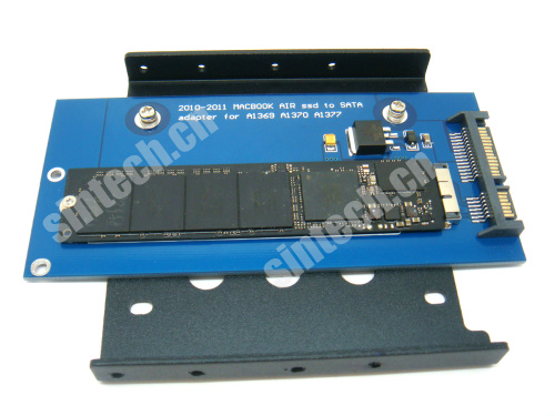 2010-2011 MACBOOK AIR A1369 A1370 ssd to SATA card+3.5 Bracket